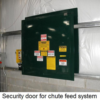 feed door with controls