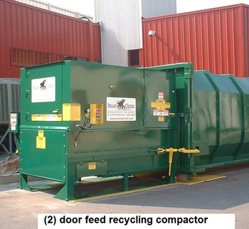 recycling compactor.