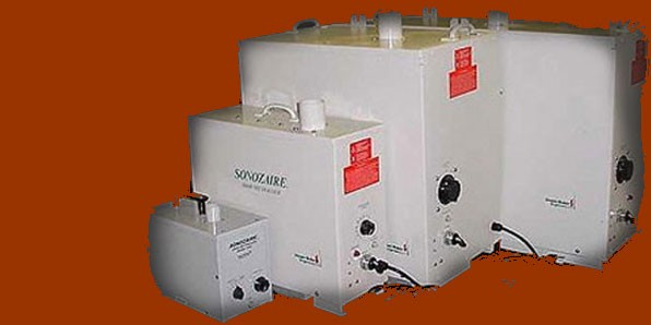 Line of Sonozaire Odor Control Products